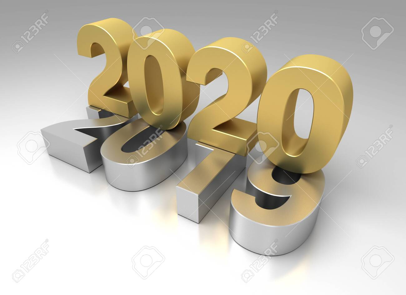 New Year 2020 from 2019 - 142619529