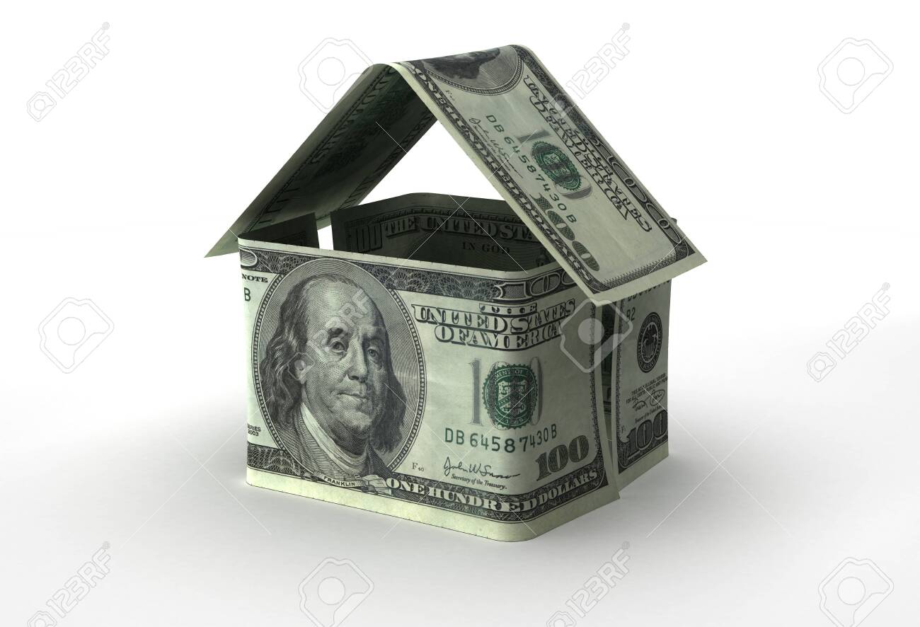 Real Estate Concept with US Dollar - 142619547