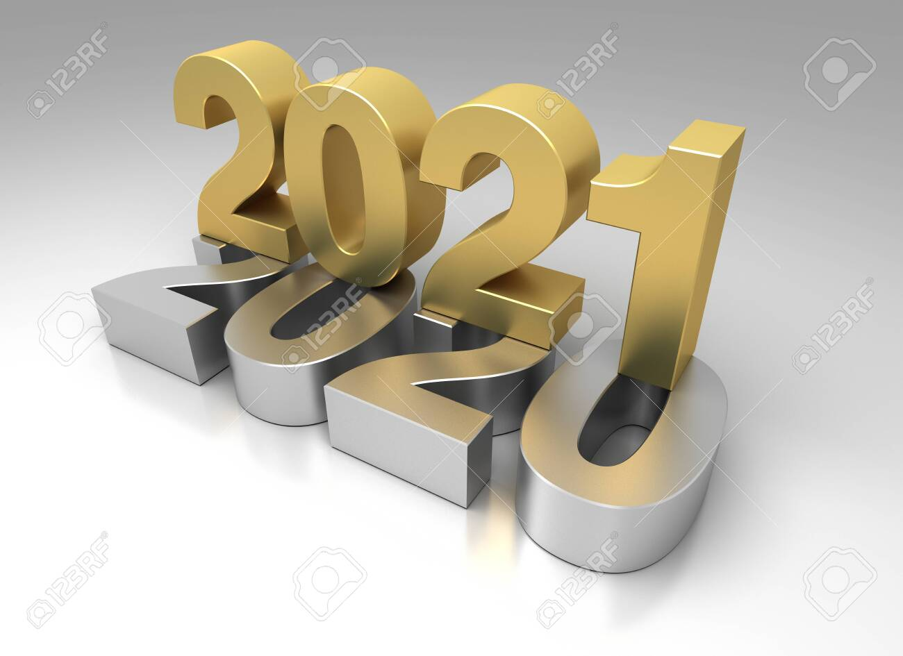 New Year 2021 from 2020 - 147326014