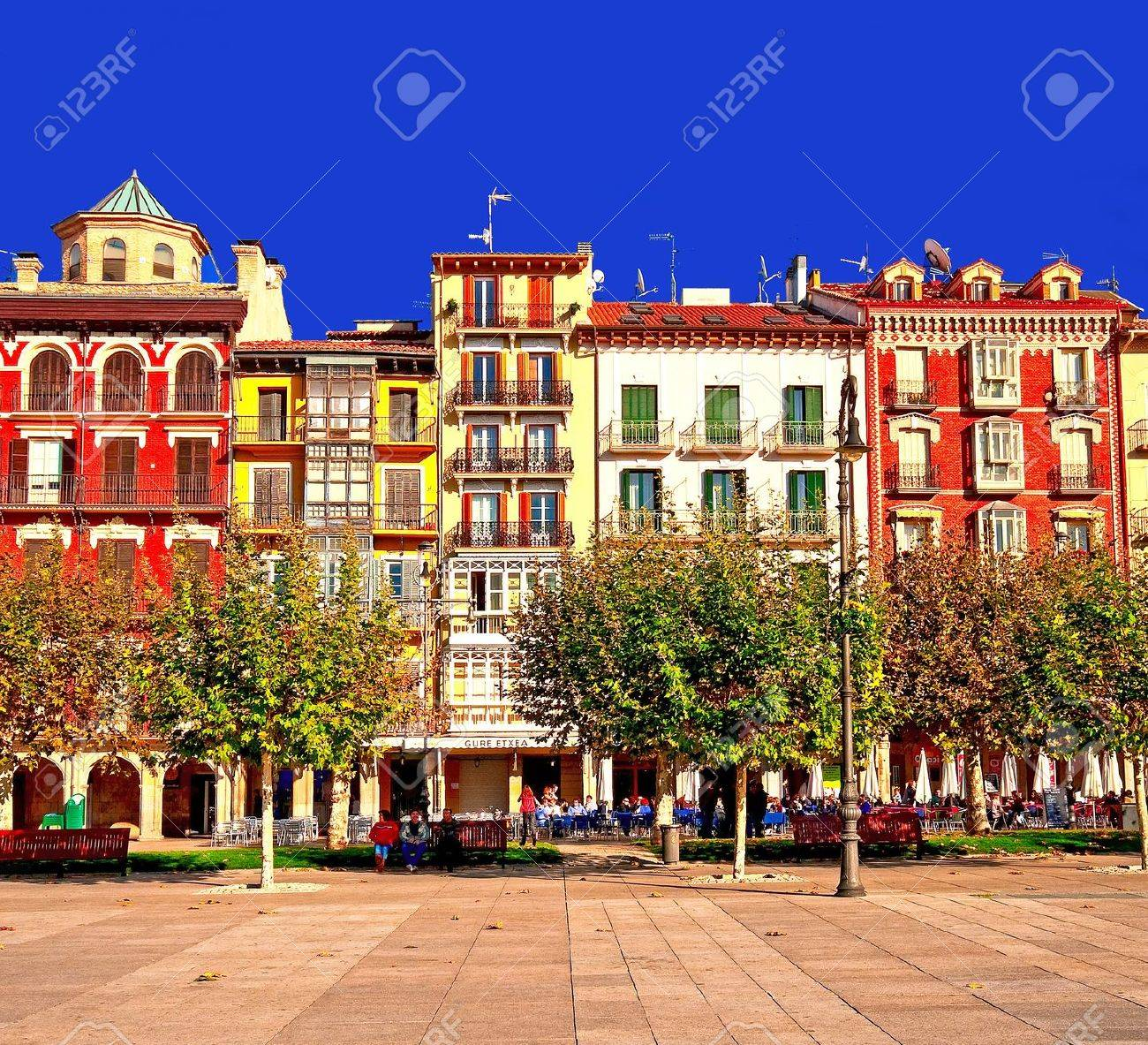 Pictures Of Nice Houses nice houses in the old town stock photo, picture and royalty free