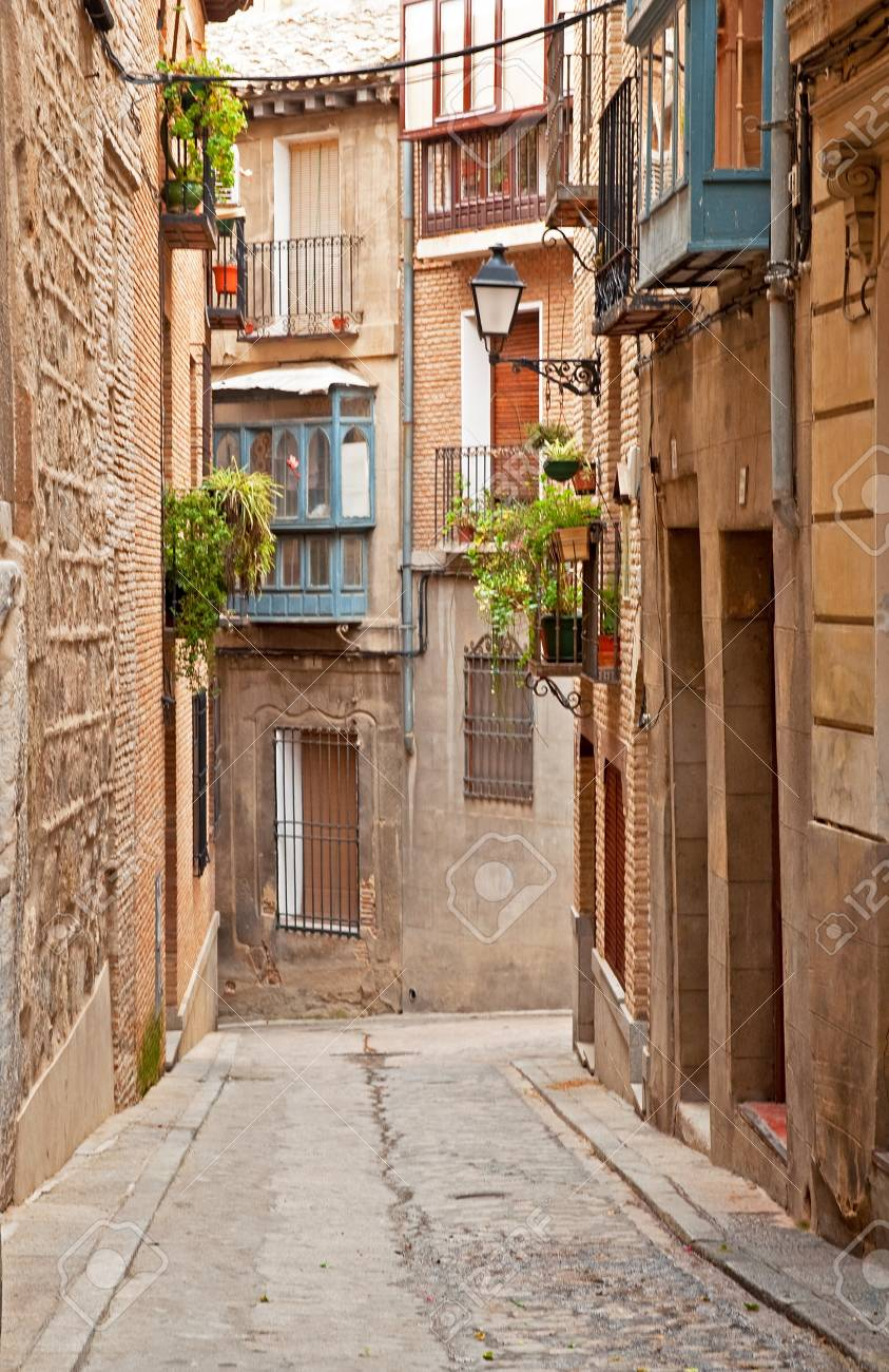 Nice houses in the old town Stock Photo - 16256846