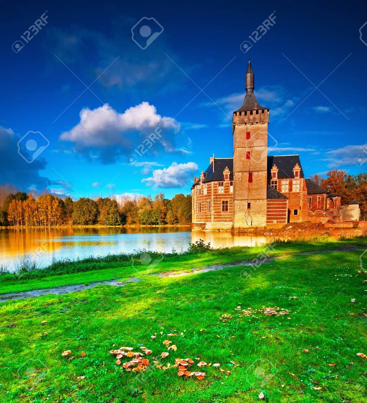 Nice medieval castle in Belgium  Stock Photo - 16652022