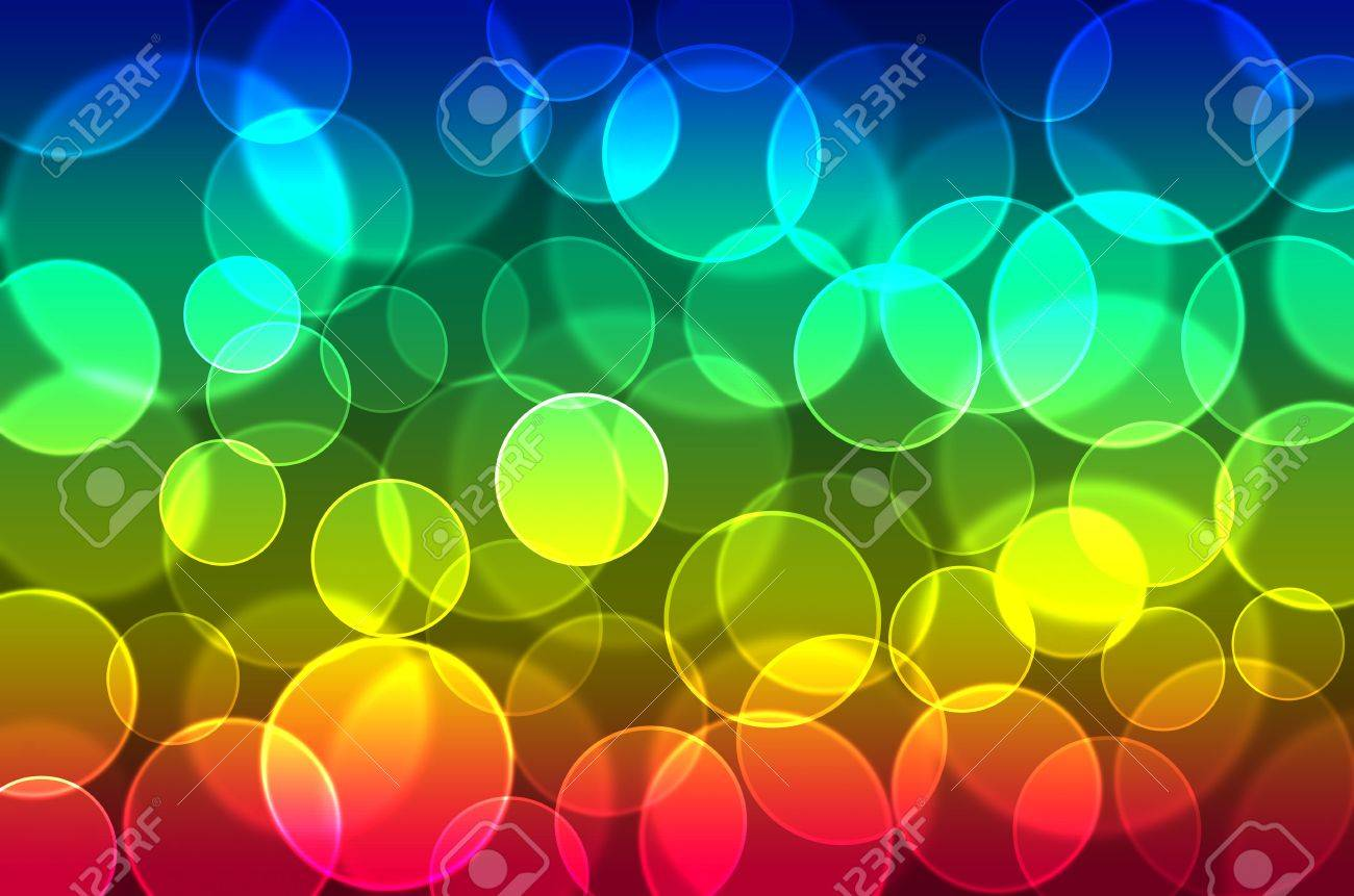 Abstract Background Bokeh Any Color Blue,red,yellow,green Stock ...