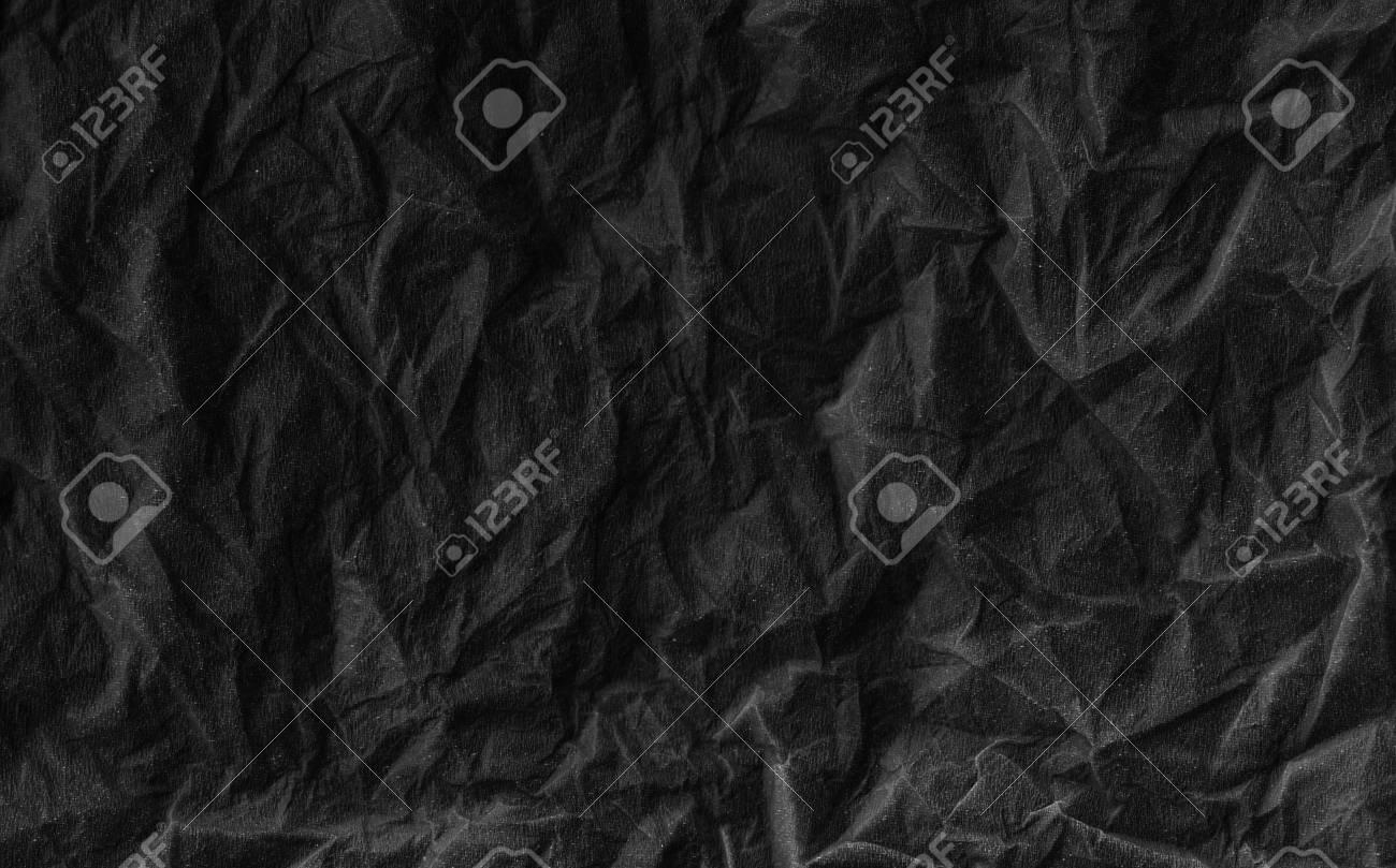 El Uso De Papel Negro Arrugado Para El Diseño Web O Algún Marco ...