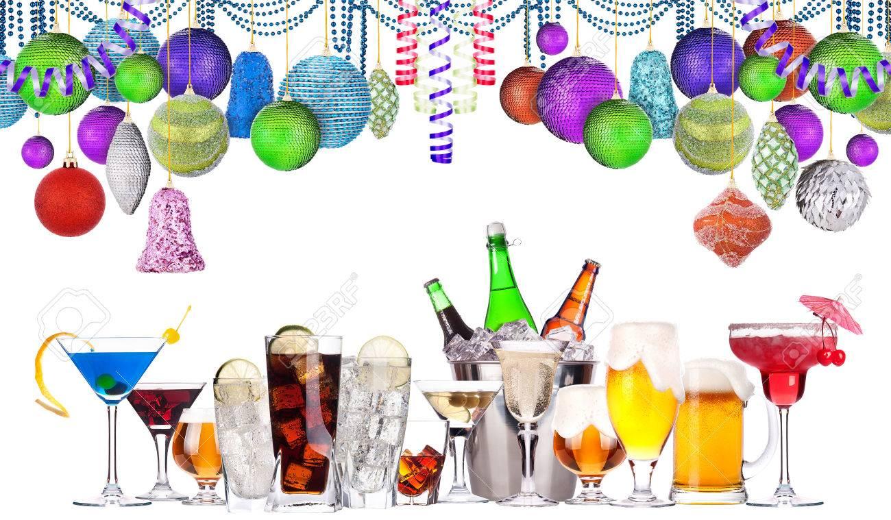 Weihnachten Alkohol Getränke-Set - Bier, Wein, Champagner, Scotch ...