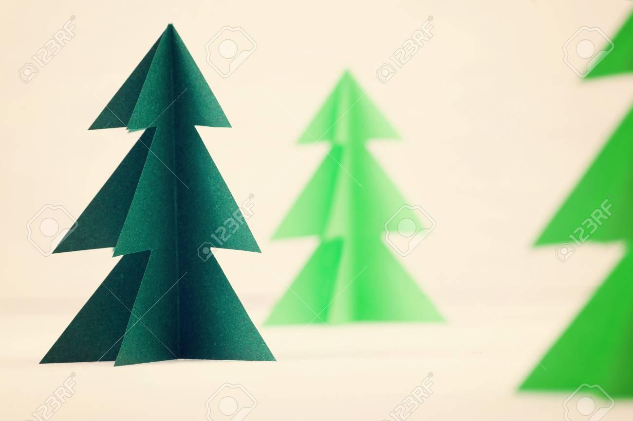 Alberi Di Natale Di Carta.Alberi Di Natale Di Carta