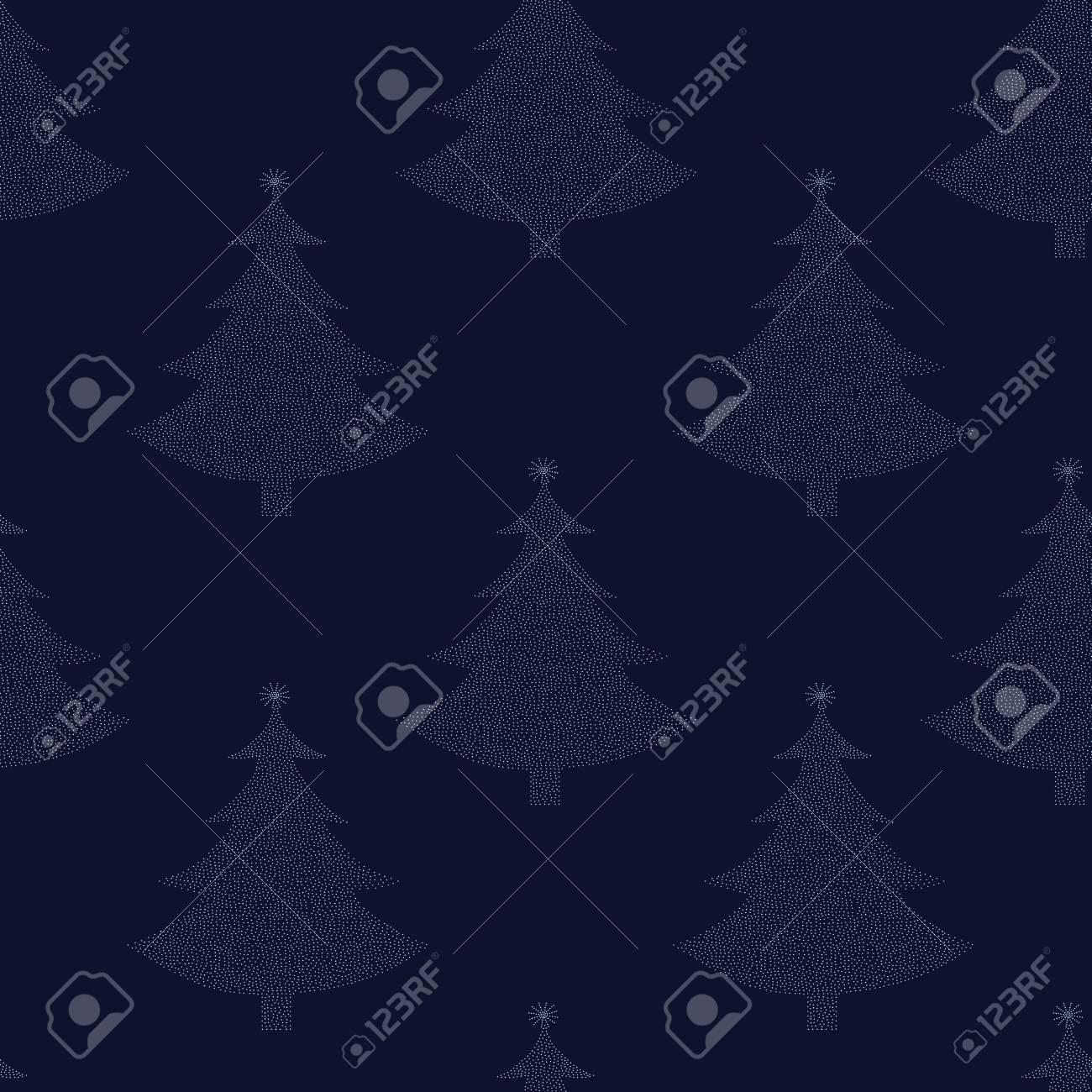 Seamless pattern Christmas tree Stock Vector - 15474195