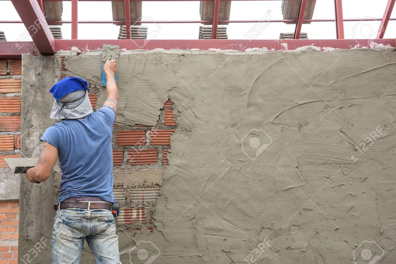 Betonwand Verputzen beton verputzen hausdesigns co