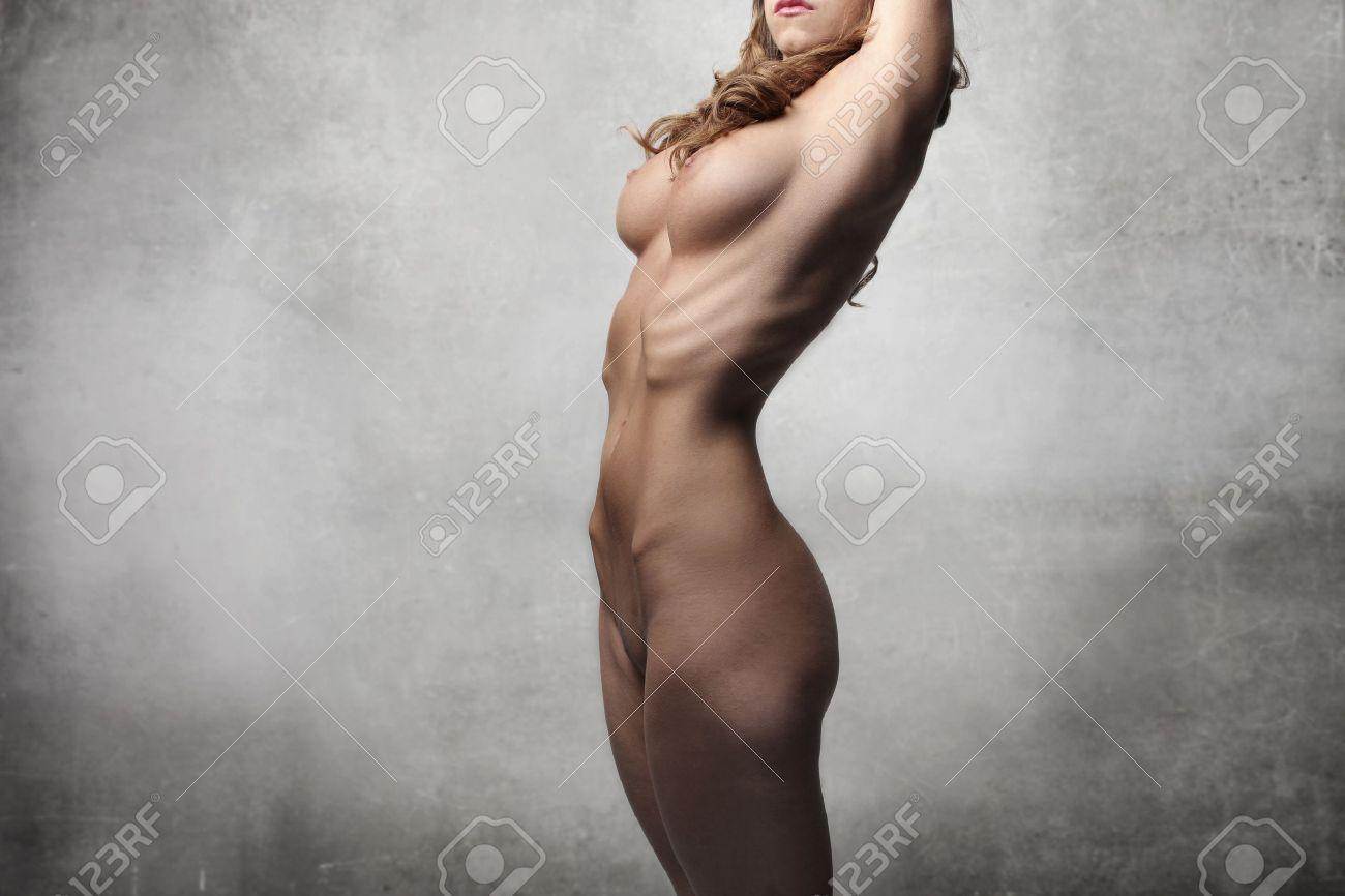 Nude Female College Student