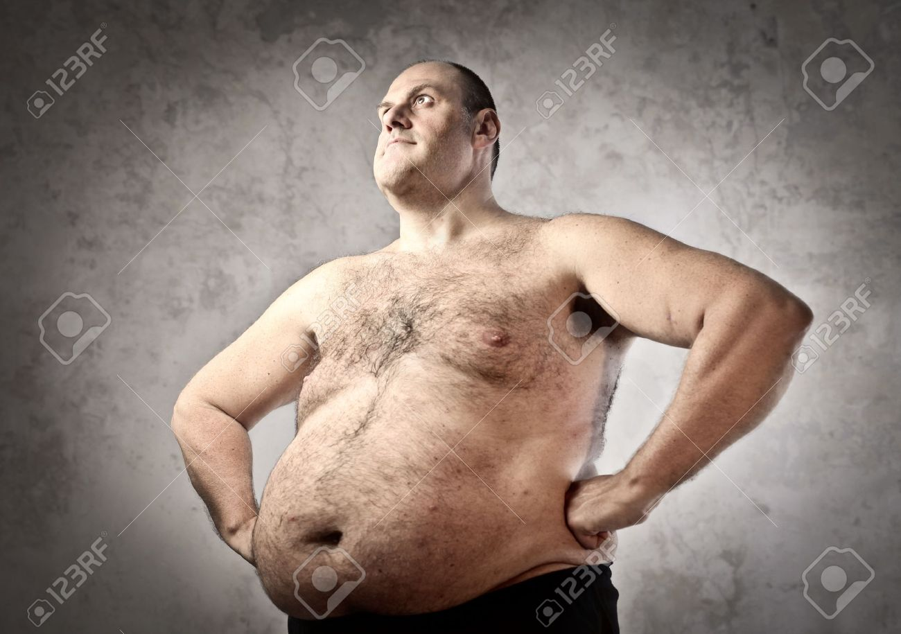 Fat man Stock Photo - 11489946