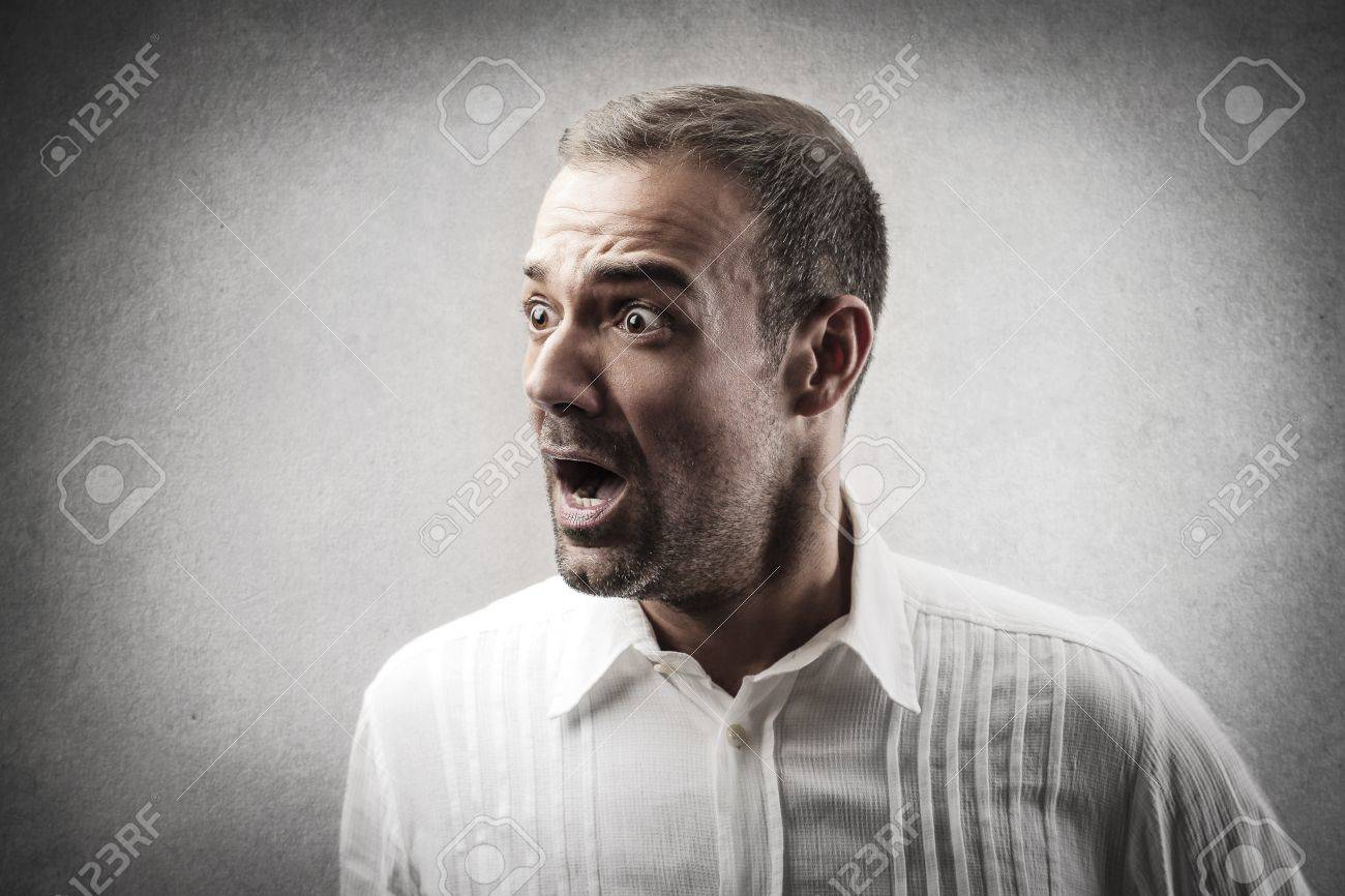 portrait of worried man Stock Photo - 18294871