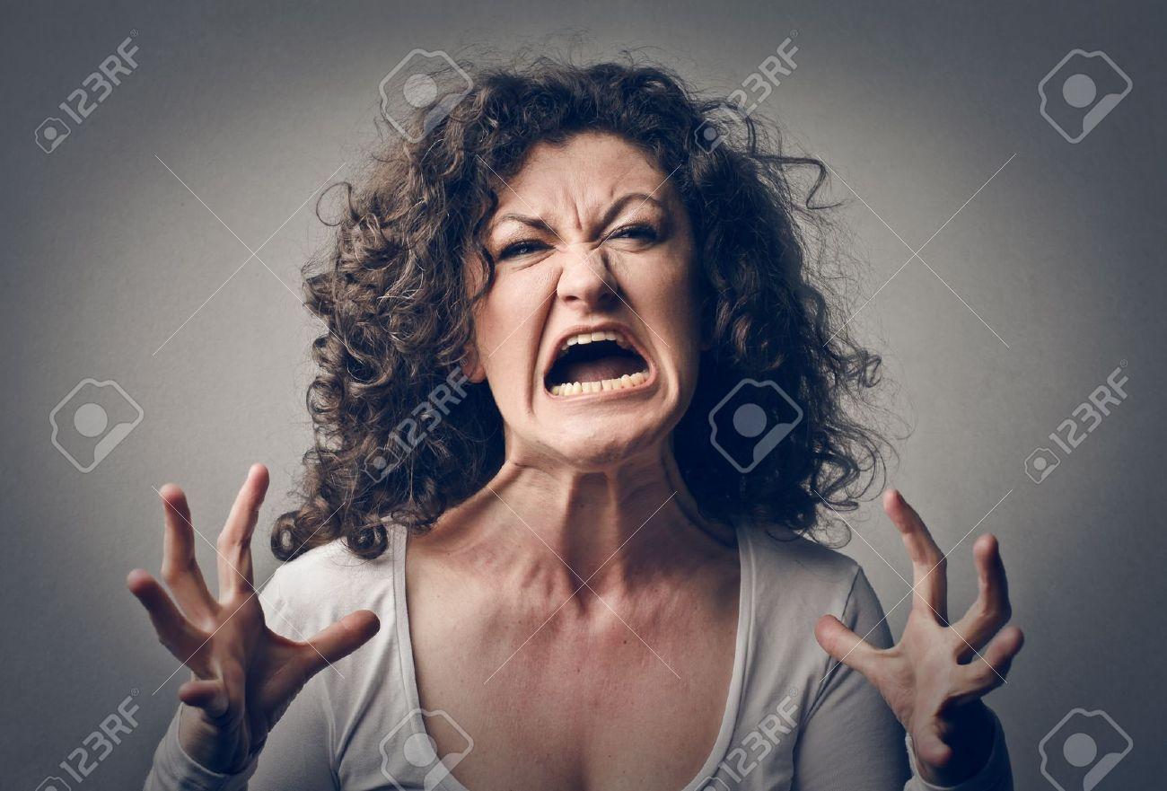 激怒の女性叫んで の写真素材・画像素材 Image 18529653.