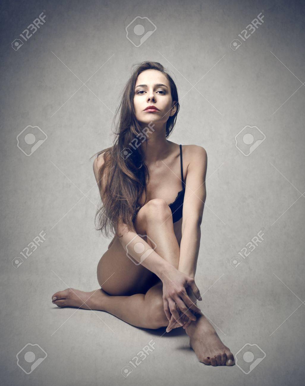 beautiful woman in lingerie Stock Photo - 18687769