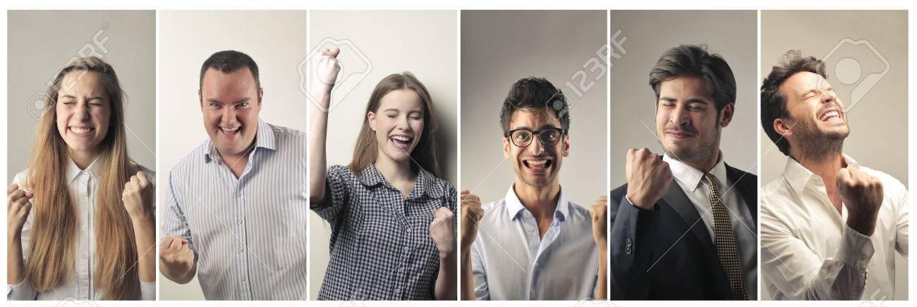 Successful people Standard-Bild - 50743901