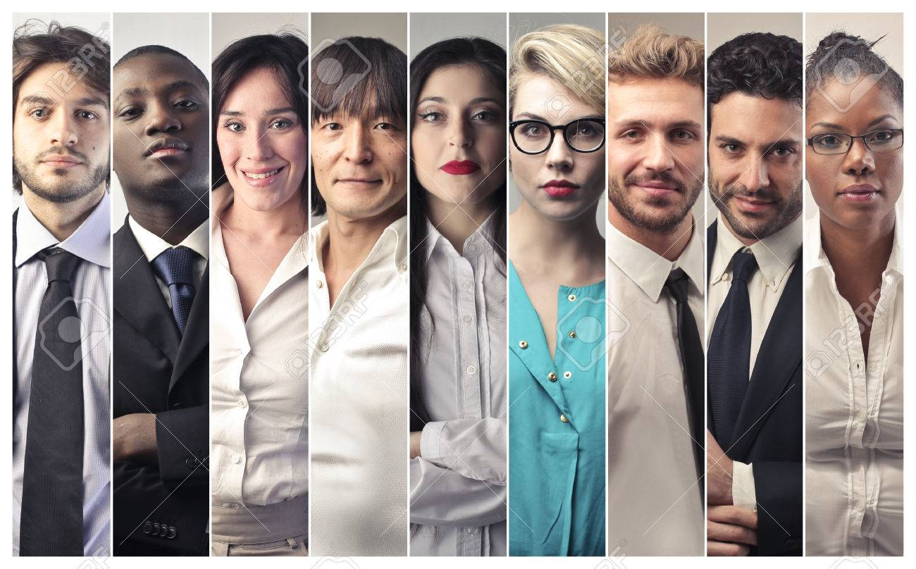 Business people from all around the world Standard-Bild - 73519358