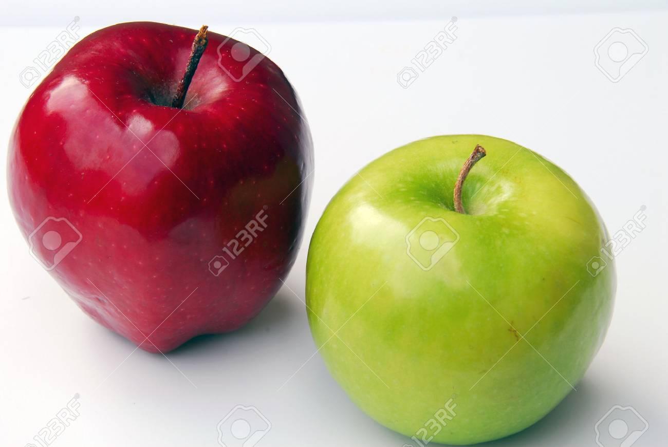Apple Couple Stock Photo - 1517664