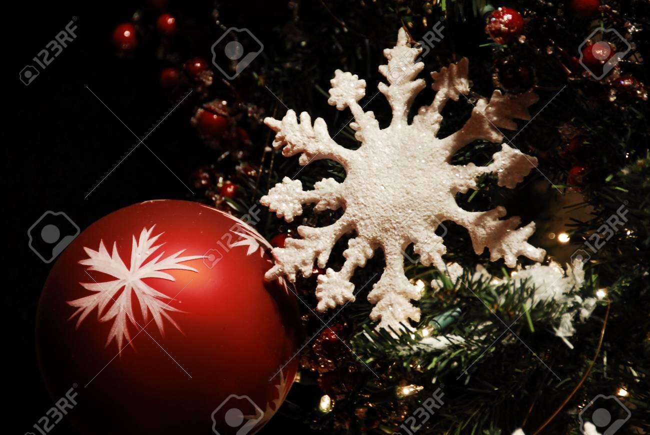 Christmas Decoration Baubles Stock Photo - 3773576
