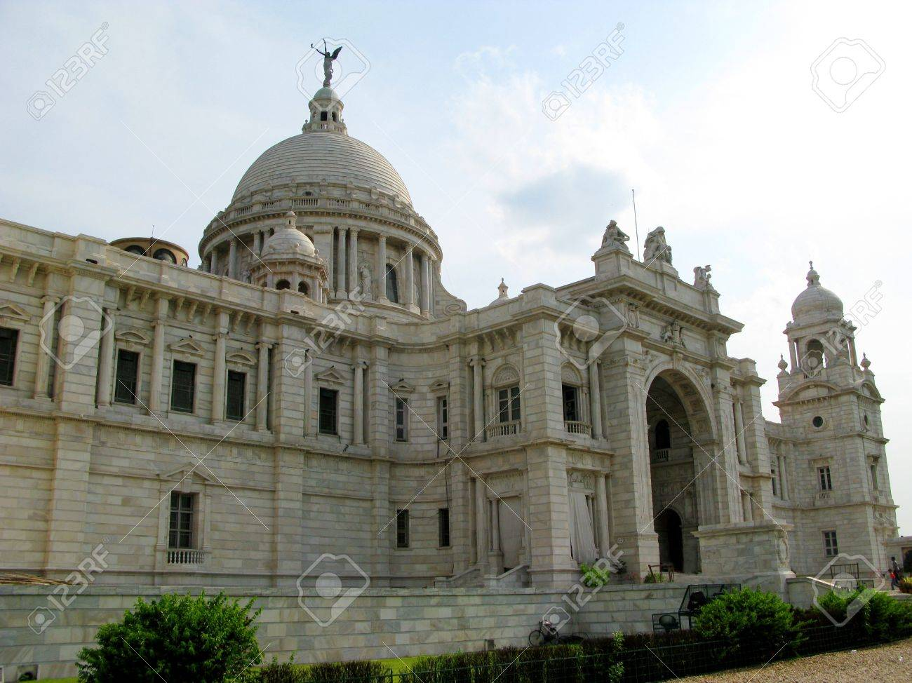Famous Architecture Buildings In India victoria memorial building in kolkata india. a famous tourist