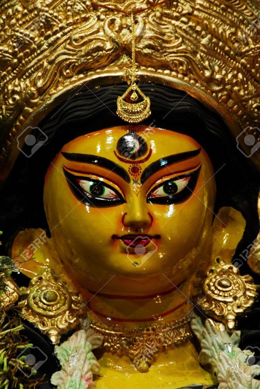 Durga Puja Festival in Kolkata Bengal . India Stock Photo - 6117055