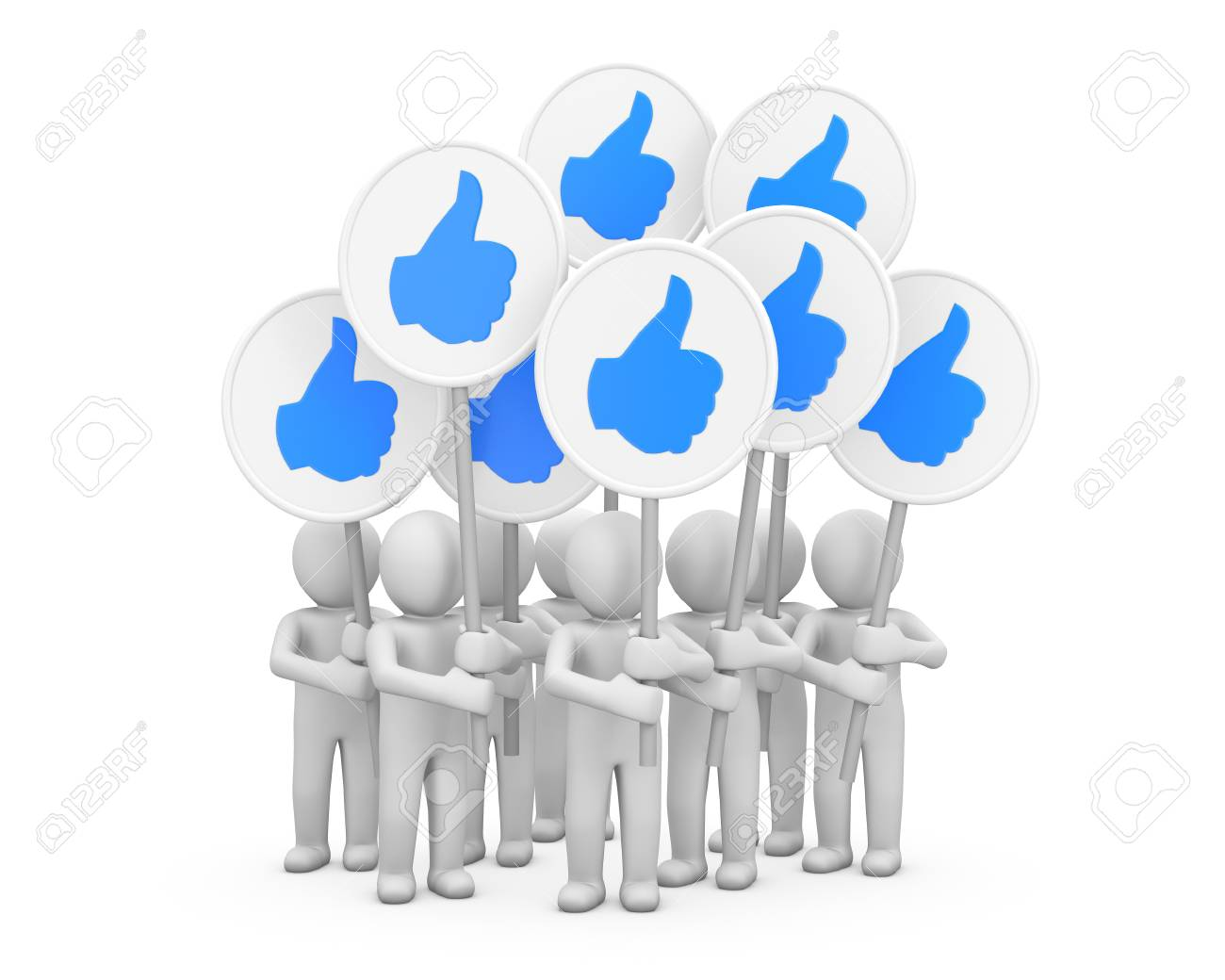 social media symbol Stock Photo - 26100624