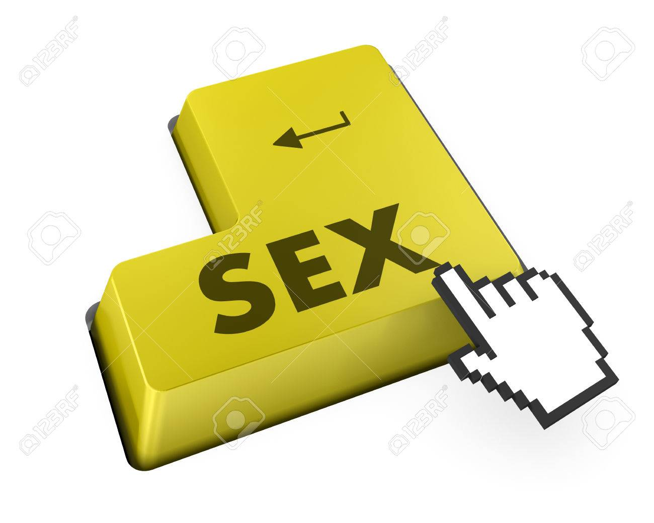 Searching for sex or asking a sex question with message on searching for sex or asking a sex question with message on computer keyboard stock biocorpaavc