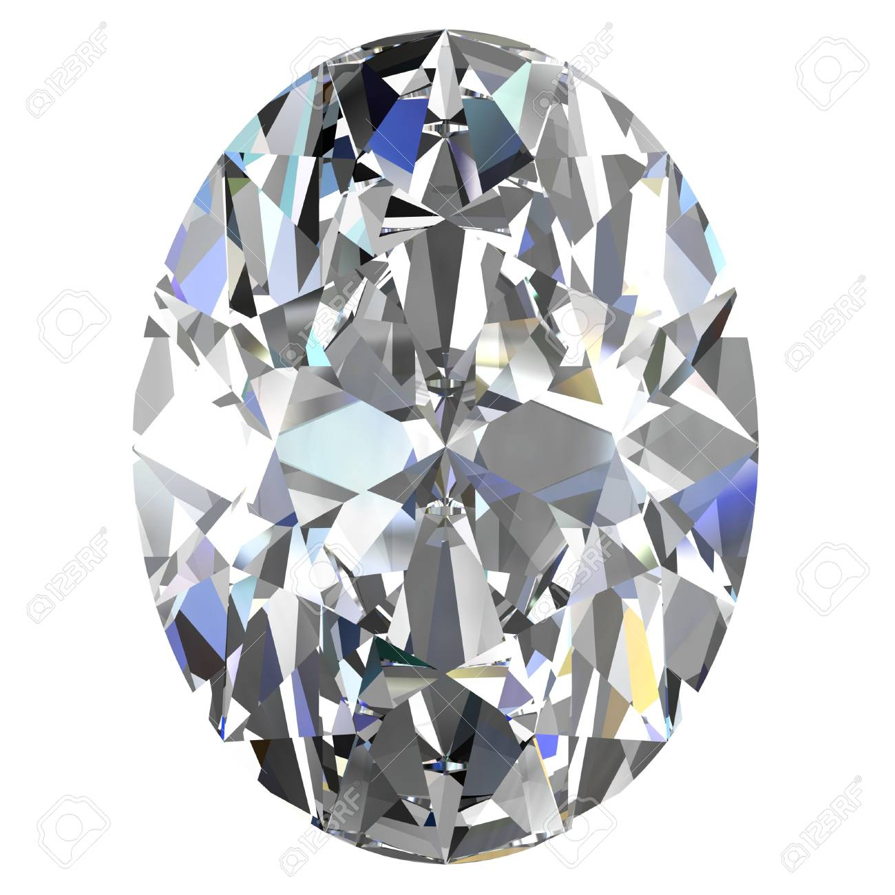 diamond jewel on white background Stock Photo - 14671841