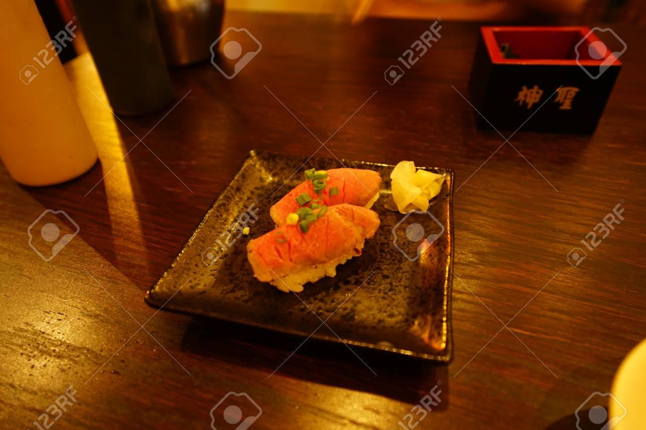 Milk sushi - 104441509
