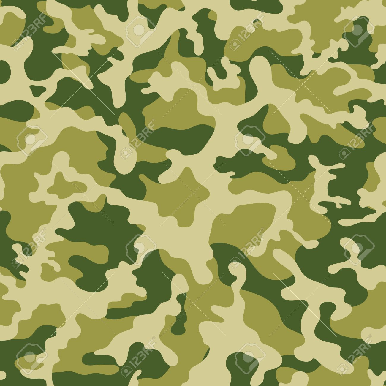 Duck hunting camo pattern