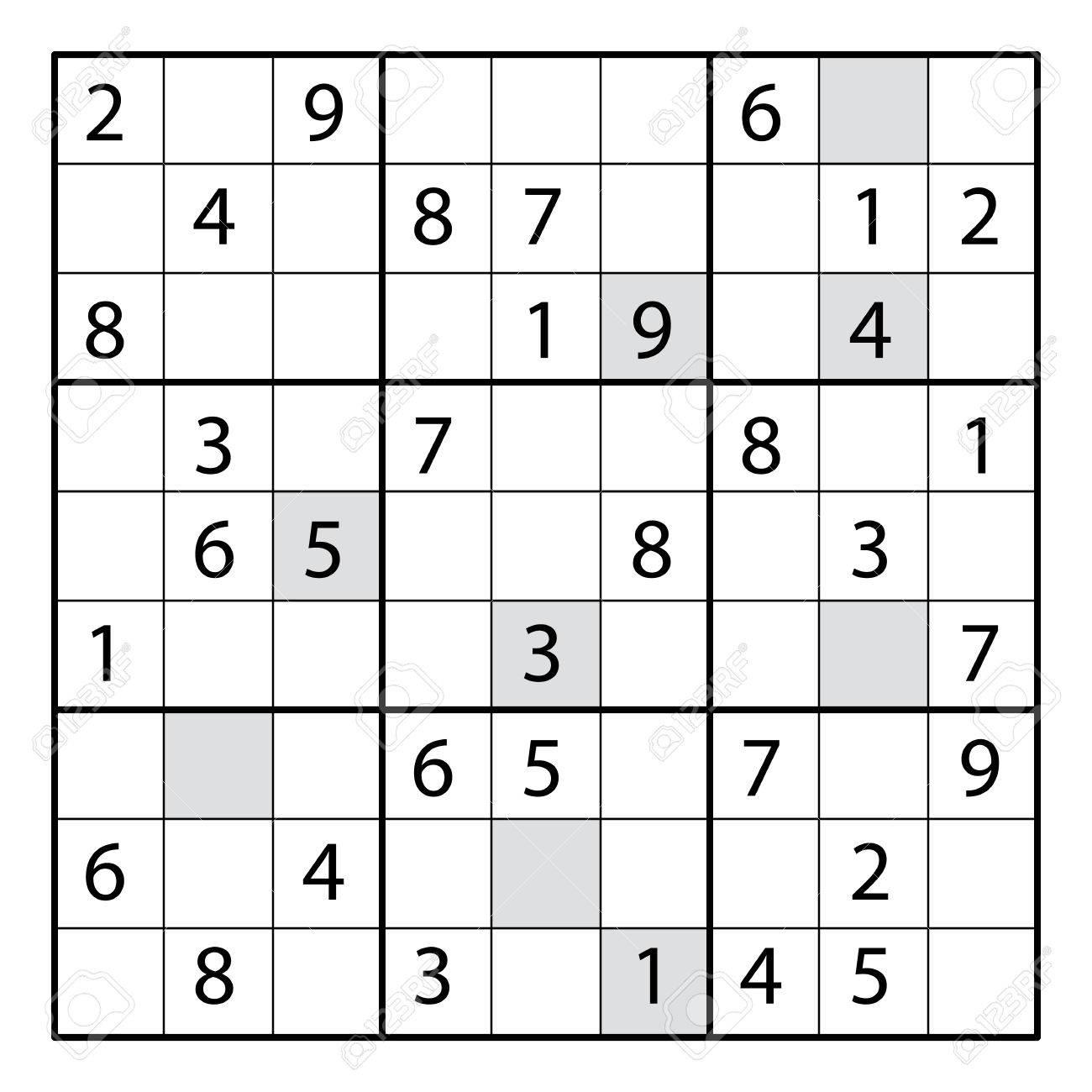 独 パズル 数