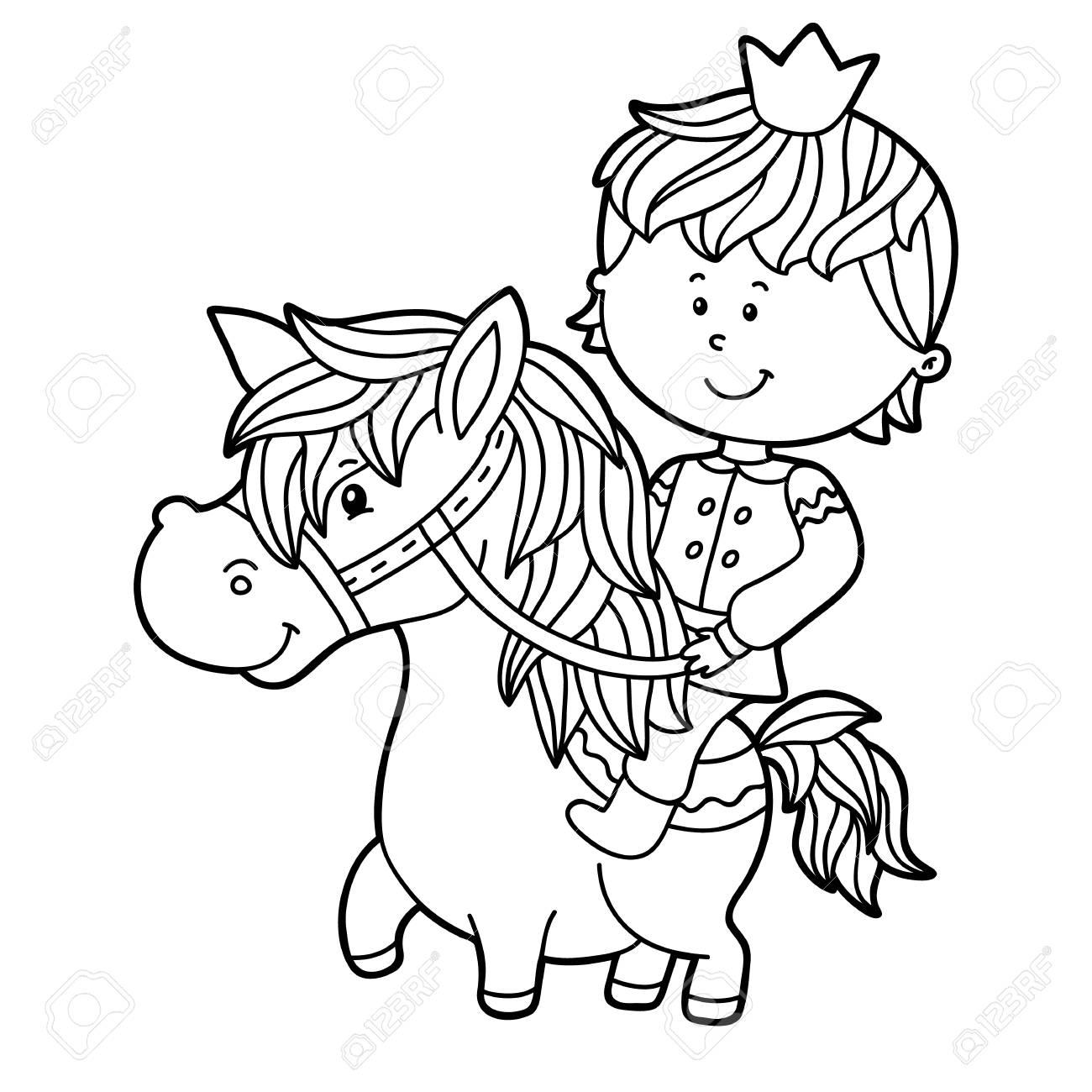 Ilustración De Vector De Personaje De Niño De Dibujos Animados Lindo ...