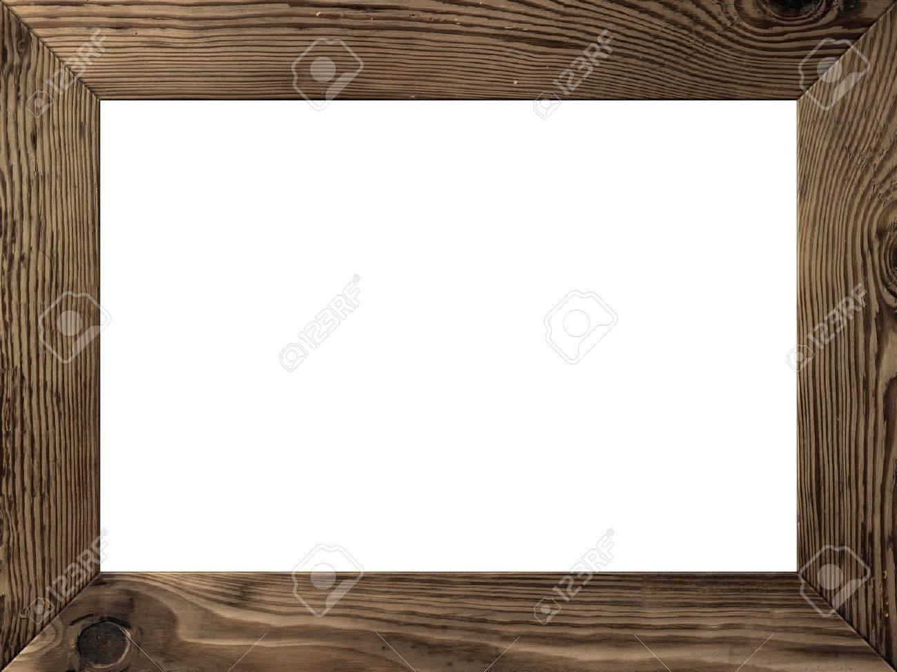 Cadre En Bois Isol Es L Int Rieur Vieilles Planches Brunes