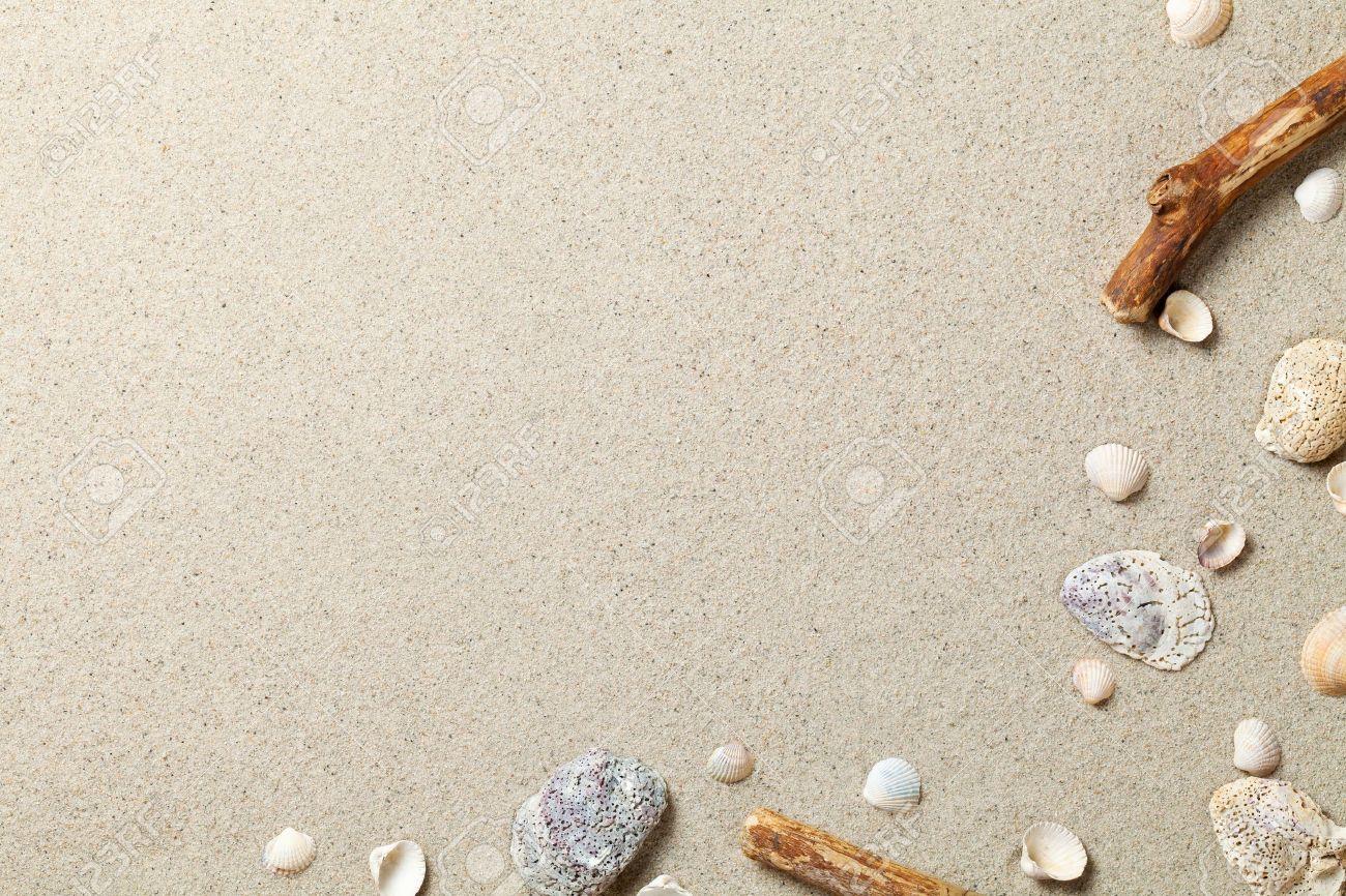 Sand Background. Sandy Beach Texture. Summer Concept. Top View ...