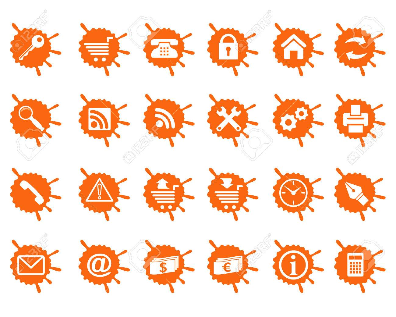 All icons organized in groups for usability. Stock Vector - 4930434
