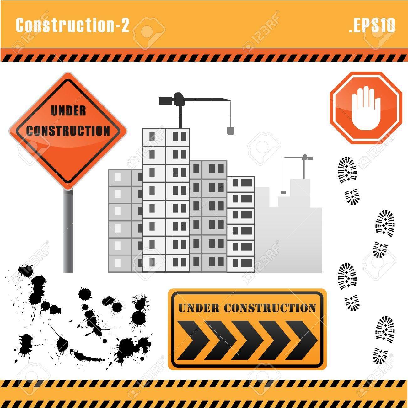 Construction set vector. Stock Vector - 10690471