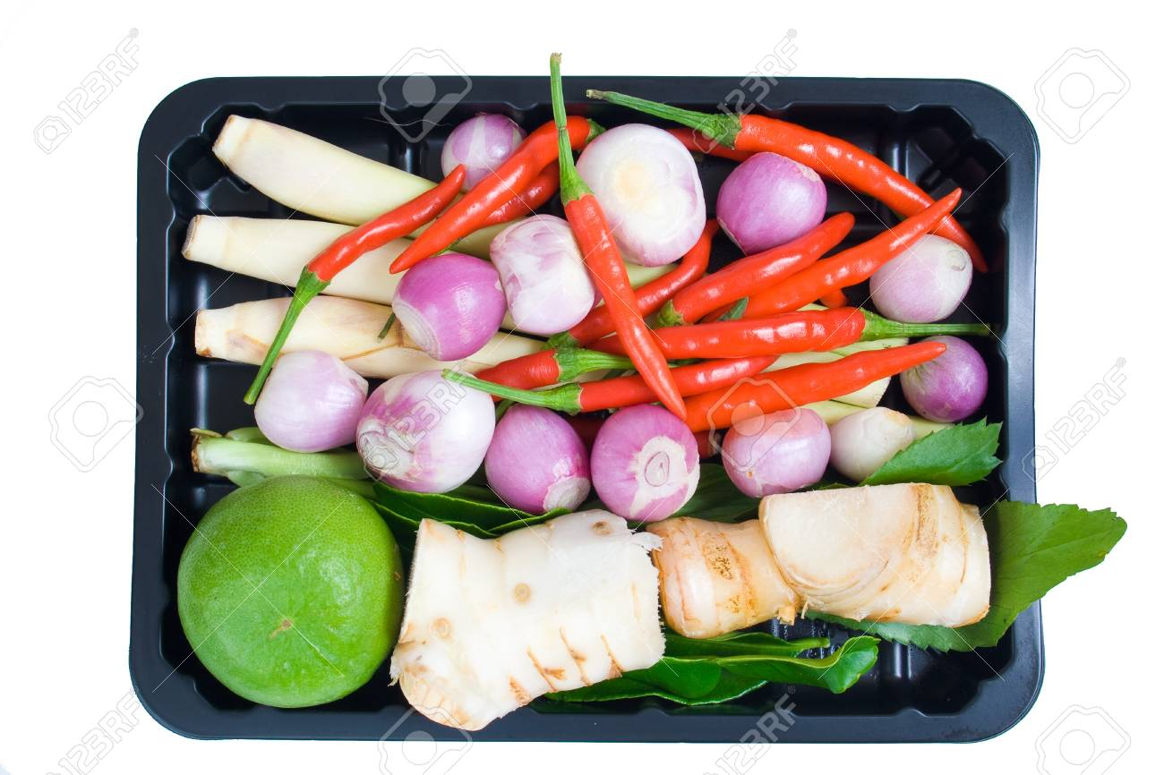 Flavoring Tom Yum Goong Stock Photo - 14597537