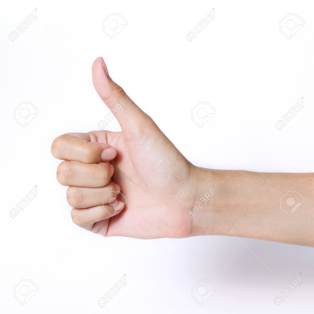 hand thumb up Stock Photo - 14394518