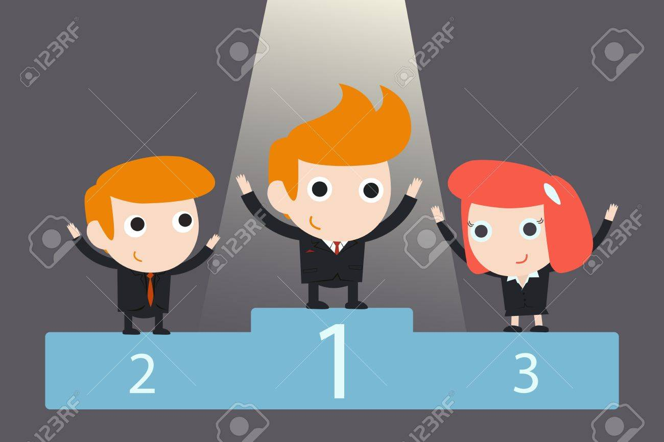 successful business team Stock Vector - 18356177