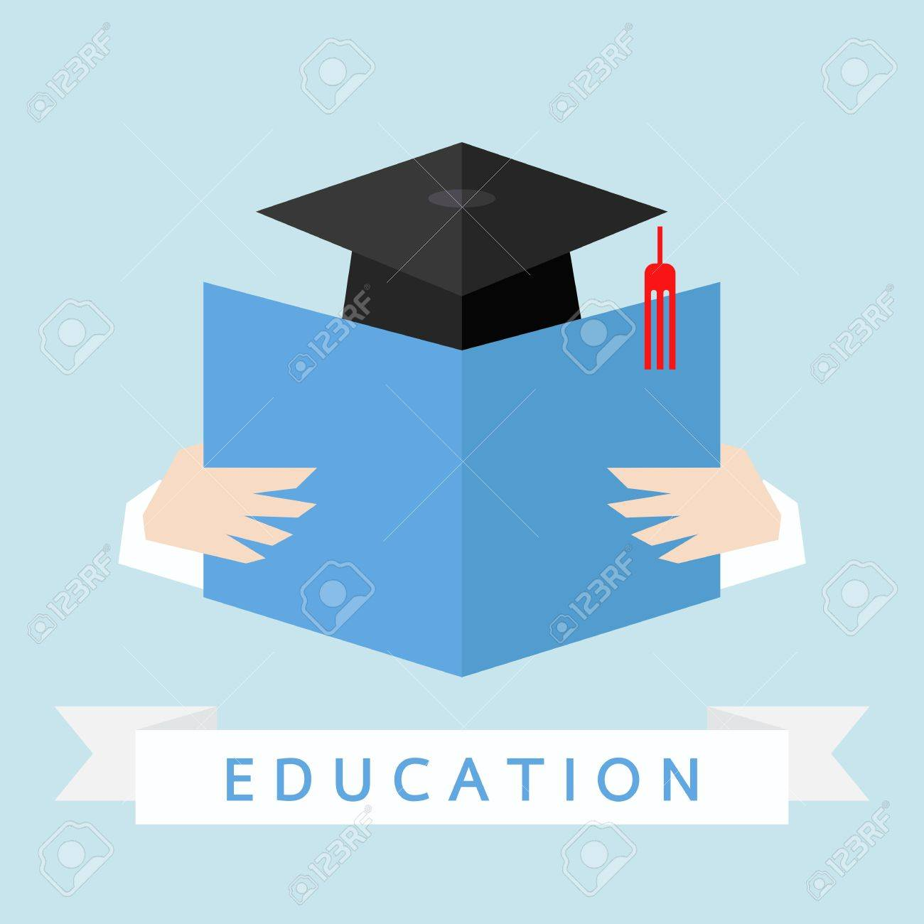 education icon, vector Stock Vector - 20980863