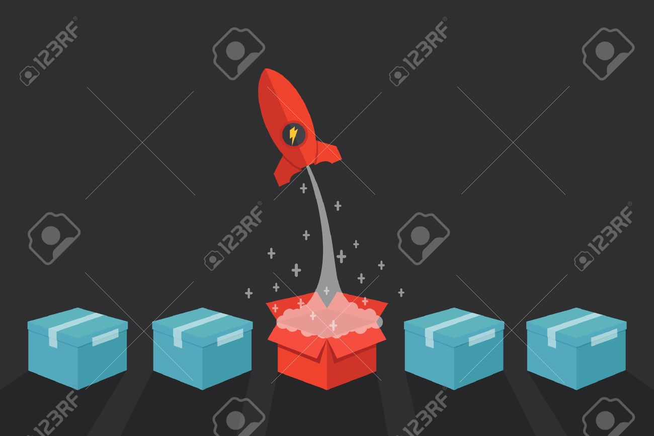 Out of the box stock photos royalty free business images think outside the box concept vector illustration buycottarizona Gallery