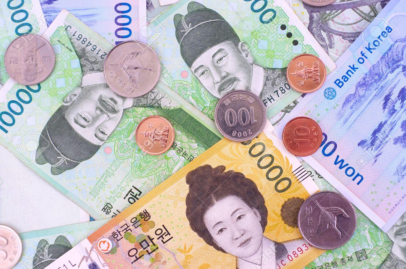 Argent Du Sud Coréen Banque D Images Et Photos Libres De Droits Image 75020142