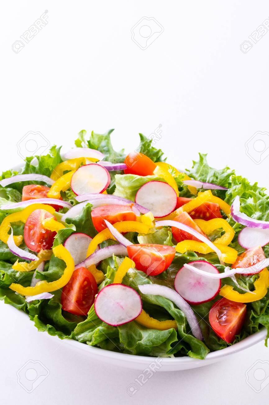 Vegetable salad on the table - 151398393