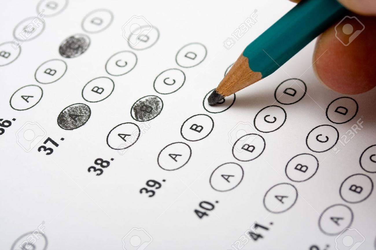 Multiple Choice Test Stock Photo - 10592767