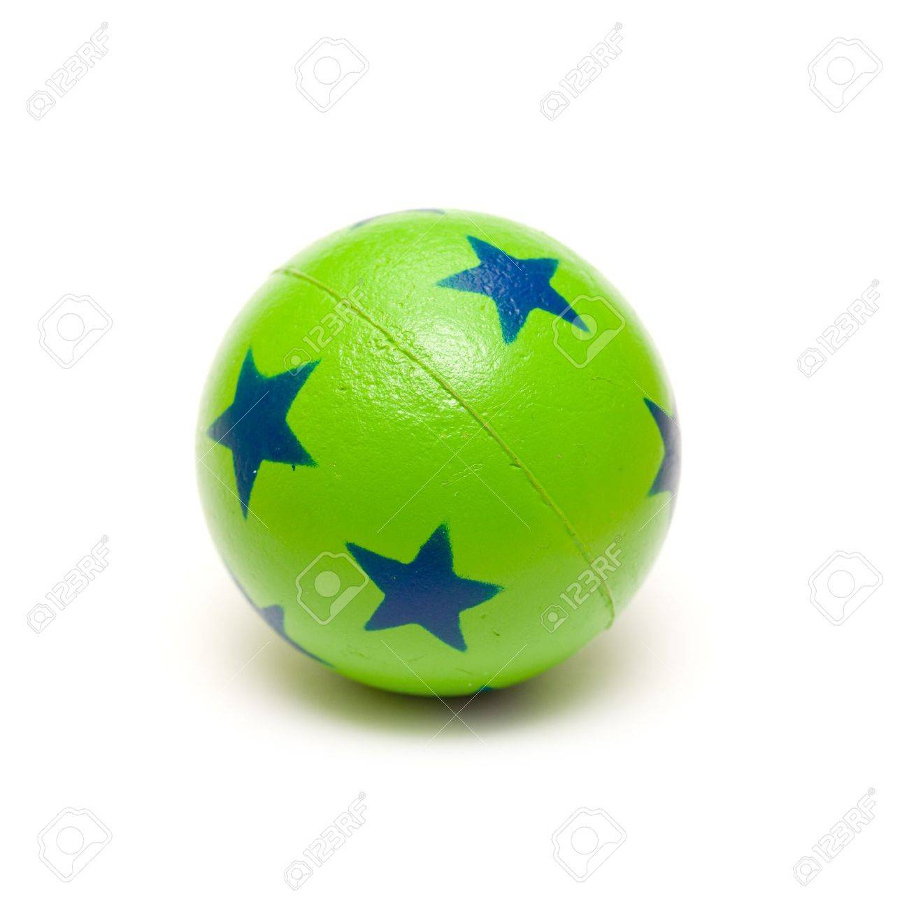 Green Bouncy Ball Stock Photo, Picture And Royalty Free Image ...