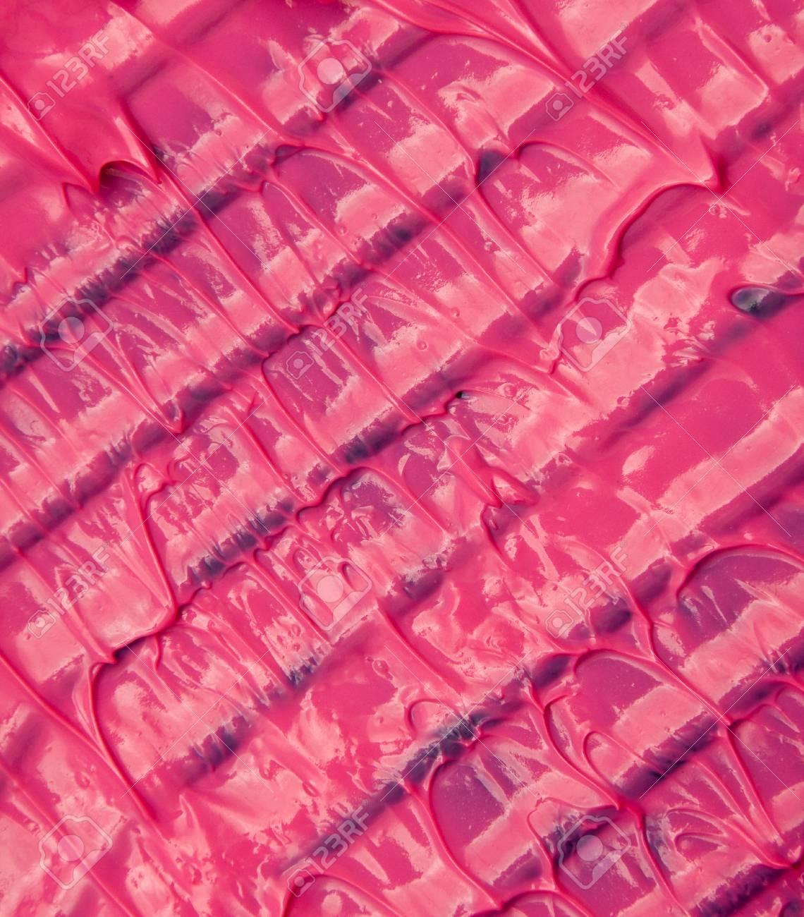 Wet purple paint drips on tray Stock Photo - 10658198