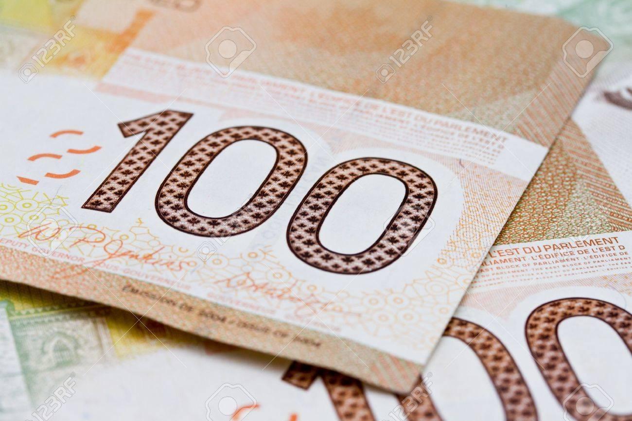 Canadian money Stock Photo - 10784158