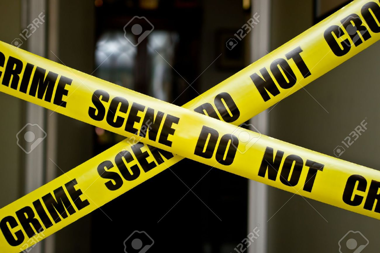 Indoor crime scene Stock Photo - 13317570