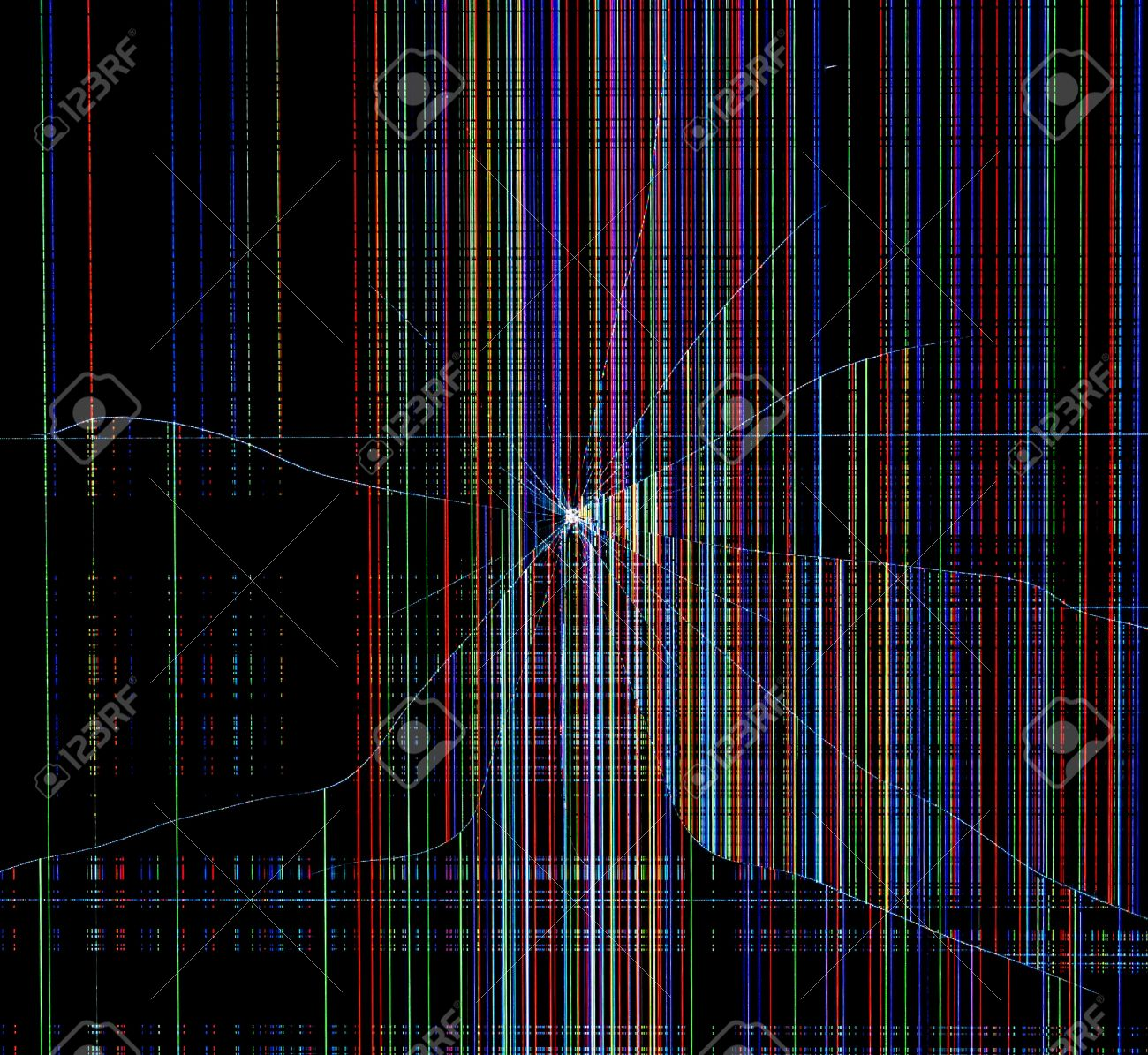 cracked background screen