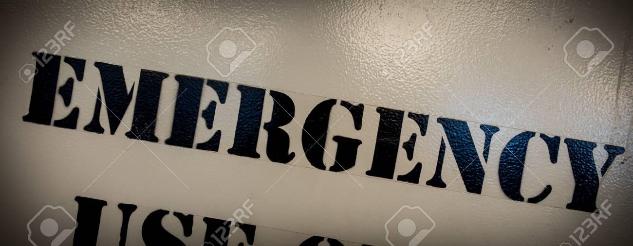 Emergency Stock Photo - 14398401