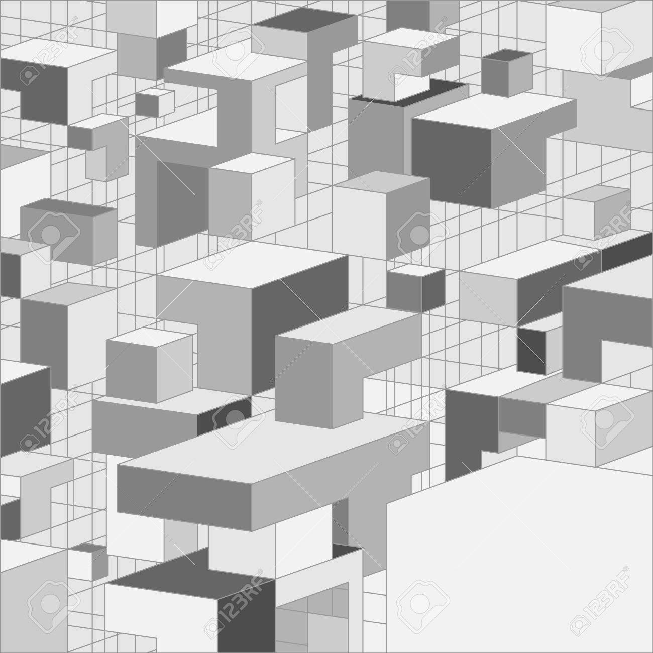 Abstract Greyscale 3d Background Illustration For Design Royalty Free Cliparts Vectors And Stock Illustration Image 15807786