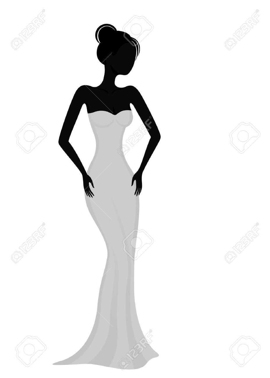 Prom Dress Cliparts, Stock Vector And Royalty Free Prom Dress Illustrations